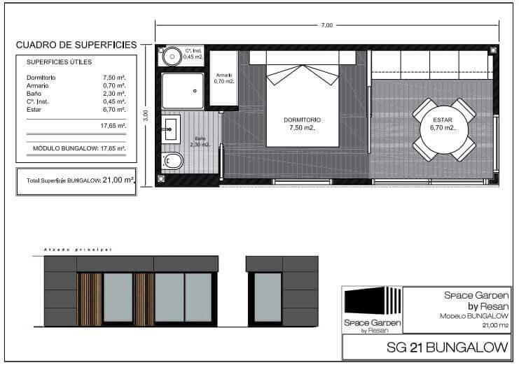 interior apartamento prefabricado