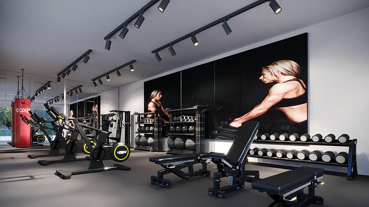 montar gimnasio en casa maquinaria