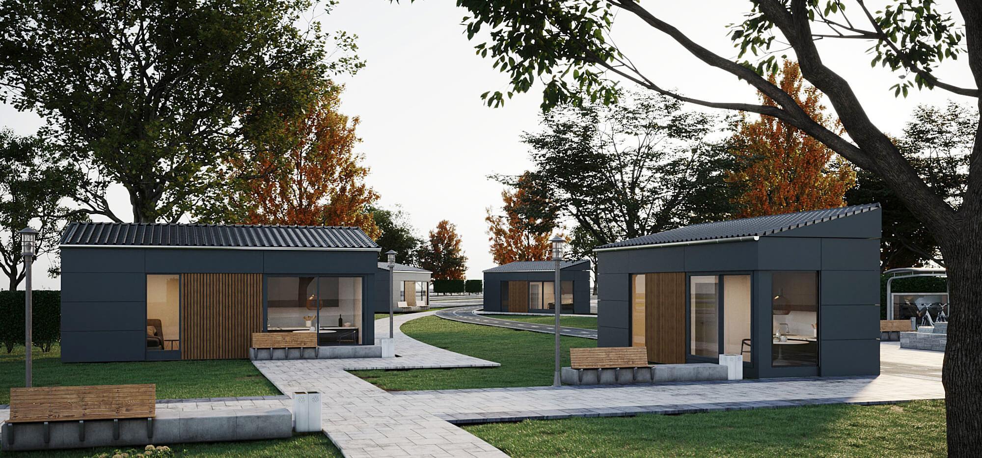 ejemplos de arquitectura sostenible